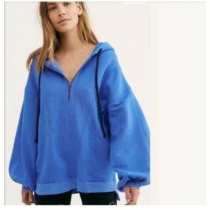 Free People High Road Pullover Sweatshirt Dolman